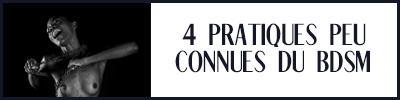 4 pratiques bdsm